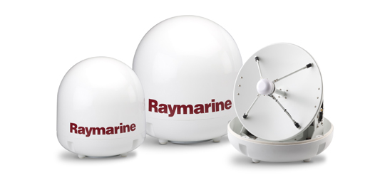 Erkunde Satelliten-TV | Raymarine by FLIR