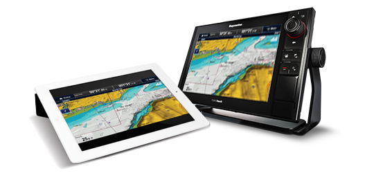 Erkunde All Marine Software | Raymarine by FLIR