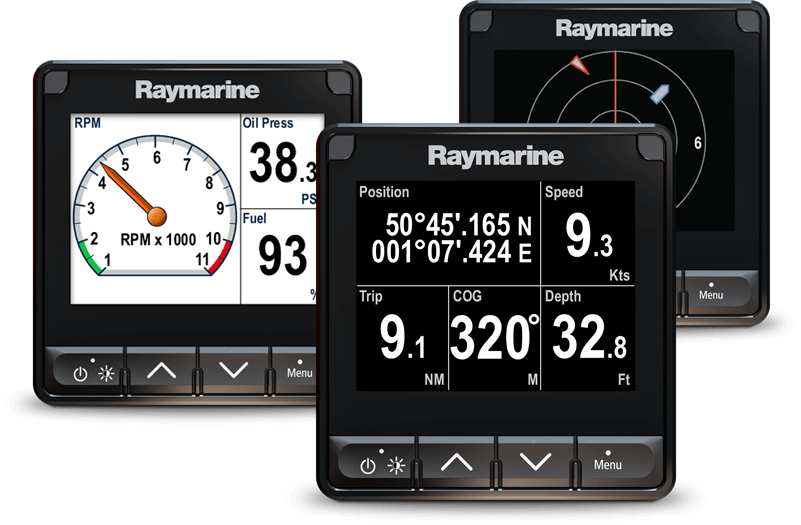 Marine Electronics for Sailing - Instrument Displays | Raymarine - A Brand by FLIR