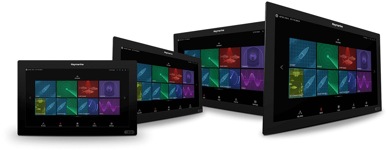 NEU Axiom XL - Glass Bridge Multifunktionsdisplay | Raymarine by FLIR