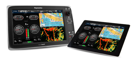 Raymarine Viewer F 252 R Iphone Ipad Und Android