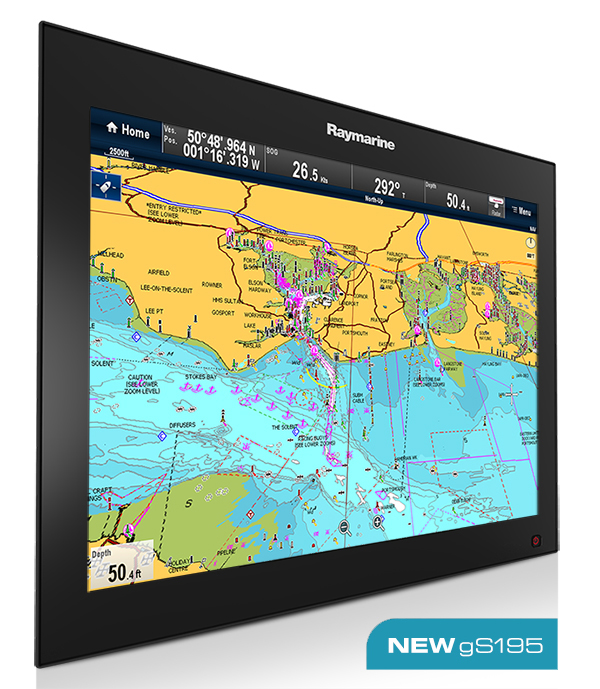 Premium Glass Bridge Multifunktions-Navigation Displays | Raymarine