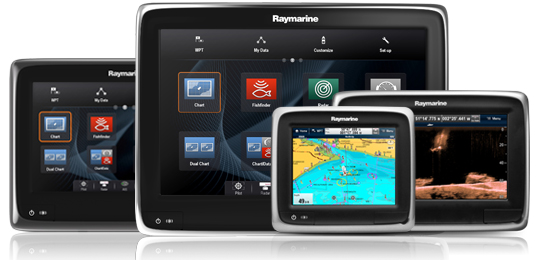 a-Serie Sortiment | Raymarine