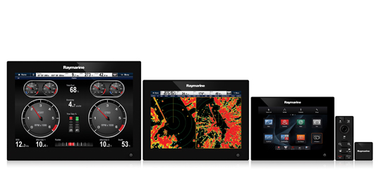 gS-Serie Sortiment | Raymarine