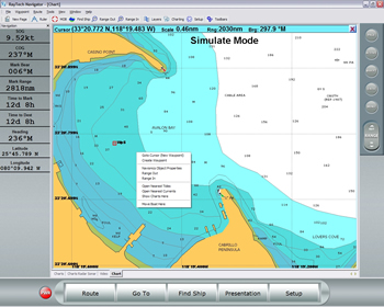 Raymarine RayTech RNS Navigation Software (Planner Version) Wegpunkte
