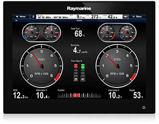 gS125 Multifunction Display | Raymarine