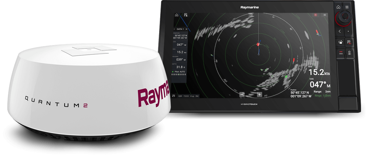 Marine Electronics for Sailing - Radar | Raymarine - A Brand by FLIR