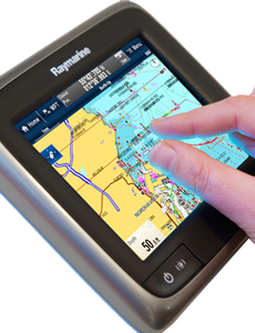 aSeries Multitouch Control | Raymarine
