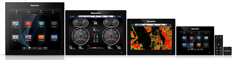 RMK-9 Multi-Display Steuerung | Raymarine