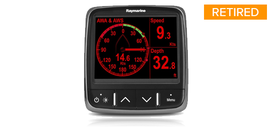 i70 Multifunktionsinstrument| Raymarine - A Brand by FLIR